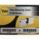 klucz Yale 2100 Max