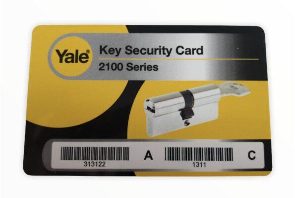 Karta Yale 2100 Maximum Security