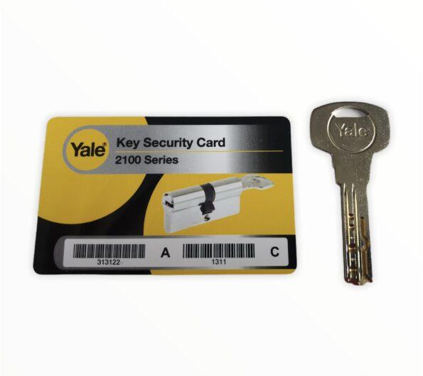 Karta i klucz Yale Maximum Security